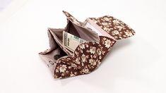 DIY Accordion Wallet Diy Wallet Pattern, Coin Purse Pattern, Coin Purse Tutorial, Leather Wallet Pattern, Purse Patterns, Sewing Patterns, Diy Cute Coin Purse, Diy Purse, Diy Accordion Wallet