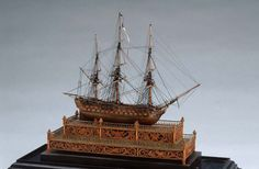 Model Warship: Two-decker, Third-rate (called Scipion) | AGO Art Gallery of Ontario