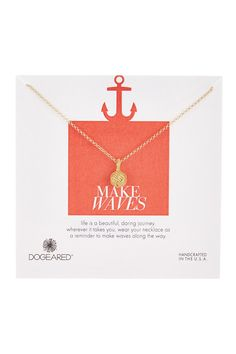 Make Waves Rope Ball Necklace by Dogeared on @nordstrom_rack