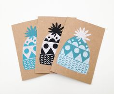 Hat Cards via Audrey and Illya. Click on the image to see more!