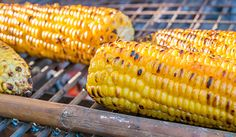 Grilled Corn on the Cob with Basil, Olive Oil, and Sea Salt. Yum! #grilledcorn #labordayrecipes