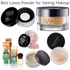 The Best Loose Powders for Setting Makeup - ThePlasticDiaries.com
