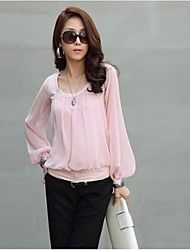Women's Round Long Bishep Sleeve Chiffon Blouse Save up to 80% Off at Light in the Box with Coupon and Promo Codes.