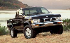 1995-Nissan-Hardbody-Pickup-4X4-SE-V6-Front-Three-Quarter