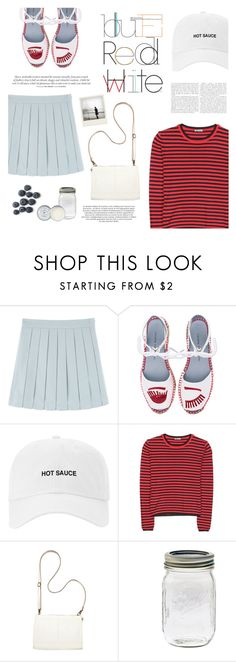 """gimme a lil bit of stripe"" by riennise ❤ liked on Polyvore featuring Chiara Ferragni, Miu Miu, Bueno, Maroc, Polaroid, Jack Wills and casual"