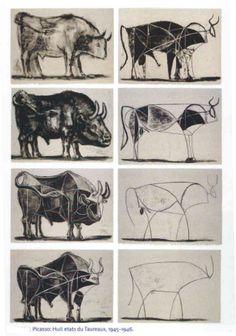 Picasso's Bulls