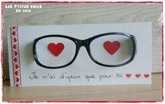 DIY pour la Saint Valentin : faire une carte avec une paire de lunettes ...