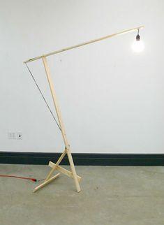 Kueng Caputos autoprogettazione inspired Lampada