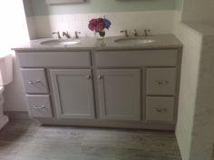 Pictures In Gallery KraftMaid Harper Bathroom Double Vanity in Pebble Grey