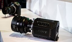 Sony Prototype 4k Video Camera - Side