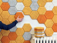 Hexagon, paneles sostenibles que mejoran la acústica   Experimenta
