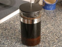 How to Make Iced coffee with a French Press-very easy!