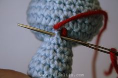 How to join amigurumi pieces?   lilleliis
