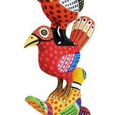 Luis Pablo: Amazing One-Piece Birds Tower | Sandia Folk