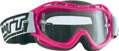 Scott Sports Voltage X Goggles with Clear Lexan Lens (Pink) Molded dual-density face foam. RAM air ventilation system. 100 percent UV protected anti-fog lexan lens. Adjustable tear off pins installed. Uses Voltage series lenses and tear offs.  #Scott_Sports #Automotive_Parts_and_Accessories