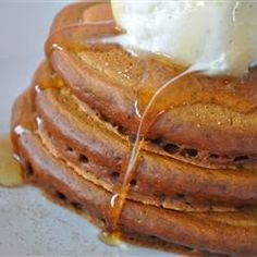 Gingerbread Pancakes Recipe :)