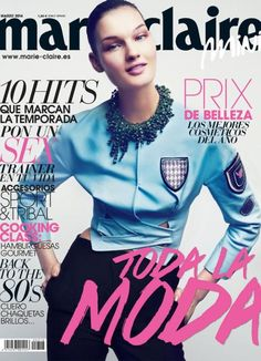 Marie Claire Spain March 2014 cover (Marie Claire Spain)
