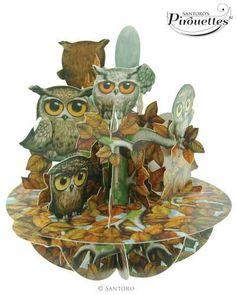 A Parliament Of Owls - 3D Pirouette