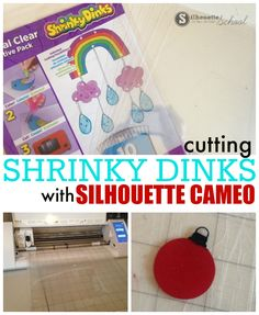 Best Shrinky Dink Silhouette CAMEO Cut Settings