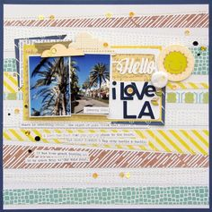 I Love LA - Scrapbook.com