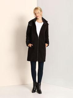Palton Top Secret SPZ0330 Black