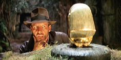 Harrison Ford starring as Indiana Jones in Raiders of the Lost Ark