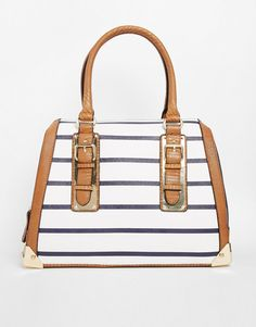 Pin for Later: This Is What Happened When Kate Bosworth Gave Up Crossbody Bags  Aldo Barrel With Metal Plate Detailing (£50)