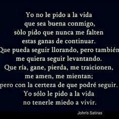 Autoayuda y Superacion Personal True Quotes, Words Quotes, Sayings, Motivational Phrases, Inspirational Quotes, Favorite Quotes, Best Quotes, Words Can Hurt, Typography Quotes