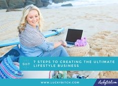Want a business that runs without you, makes money while you sleep or travel around the world? You need a LIFESTYLE business! Here's how ...
