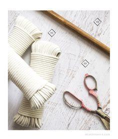 macrame wall hanging tutorial diy knots dupetitdoux macramé tenture murale artisanat tutoriel step-by-step