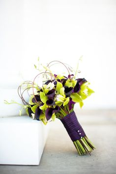 #purple #wedding #bouquet