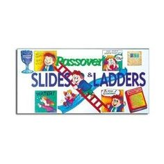 Passover Slides and Ladders Board Game