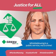 Justice for All! Pardon Manning!