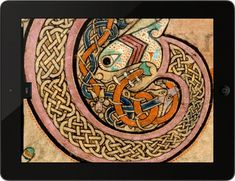 Book of Kells - Beautiful 8th Century Celtic Artwork - Got Ireland