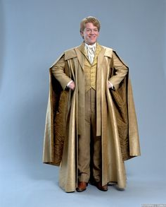 lockhart 1 - robes with long open sleeves and squared lapels