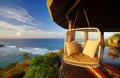 Reserve a seat overlooking the harbour at Fregate Island Private resort in Seychelles to watch the sunset. Best Hotel Deals, Best Hotels, Beautiful Islands, Beautiful Places, Beautiful Pictures, Porches, Seychelles Hotels, Camping 3, Snorkel