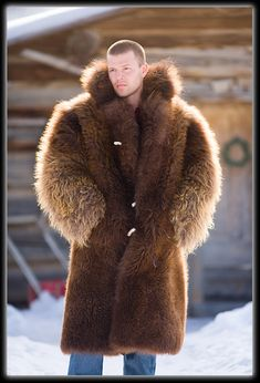 It never gets cold enough here to warrant a buffalo coat, especially at this size.  But if I could afford it, you know I'd get one!