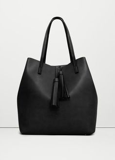 Tassel shopper bag