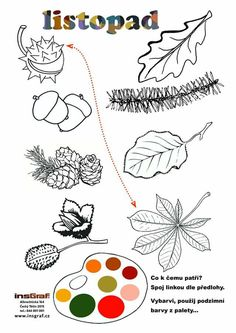 Aa School, School Clubs, Autumn Activities For Kids, Autumn Crafts, Drawing Lessons, Free Printables, Kindergarten, Homeschool, Education