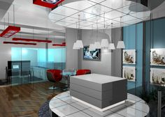 1000 images about new kw crossroads office on pinterest for Modern real estate office design