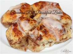 ~Cinnamon Roll Breakfast Bake! | Oh Bite It