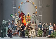 Stargate Jam by woodlu on DeviantArt Stargate // This is fully awesome.