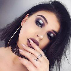 halo eye makeup | smokey eye | makeup | dark makeup