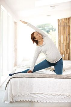 Stretches for Pregnancy #pregnancy #workout