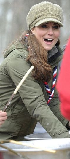 The Duchess of Cambridge visits the Great Tower Scout Activity Centre, march 22nd 2013.