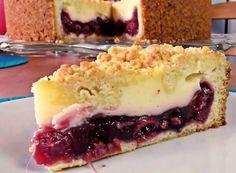 Cream Cake, Ice Cream, Cake Recipes, Dessert Recipes, Good Food, Yummy Food, Romanian Food, Cheesecake, Food Porn