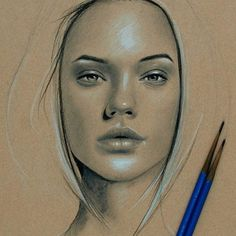 Learn to Draw Realistic Portraits in Pencil Pencil Portrait, Portrait Art, Portraits, Graphite Drawings, Pencil Art Drawings, Charcoal Artists, Sketch Painting, Sketch Drawing, Drawing Art