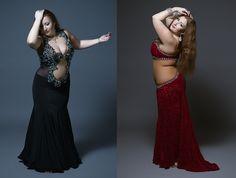 ilyafedorov:  Vitalia Sharina, russian bellydance star and dance costume designer
