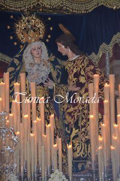Ntra. Señora del Mayor Dolor el Miércoles Santo de 2016 (Málaga)