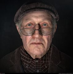 Raphael Boyon  Old man in the dark  3ds max, Photoshop, VRay, ZBrush  August 2012